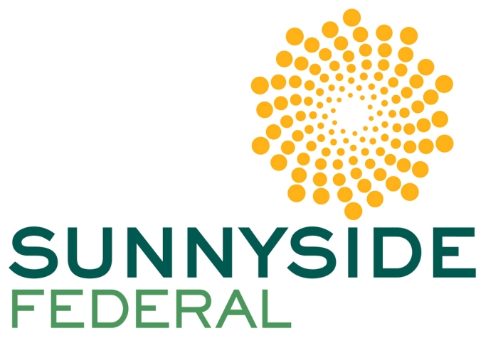 Brand identity by Ellen Shapiro graphic designer for Sunnyside Federal Savings